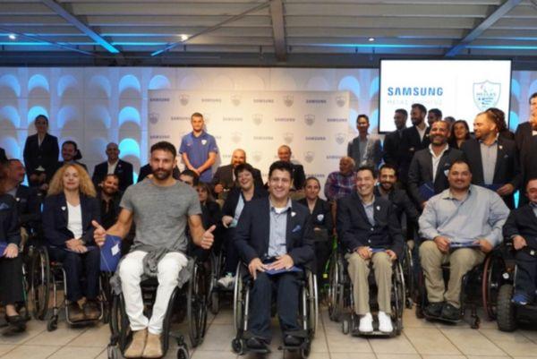Η Samsung τιμά την Ελληνική Παραολυμπιακή Ομάδα (Photo)