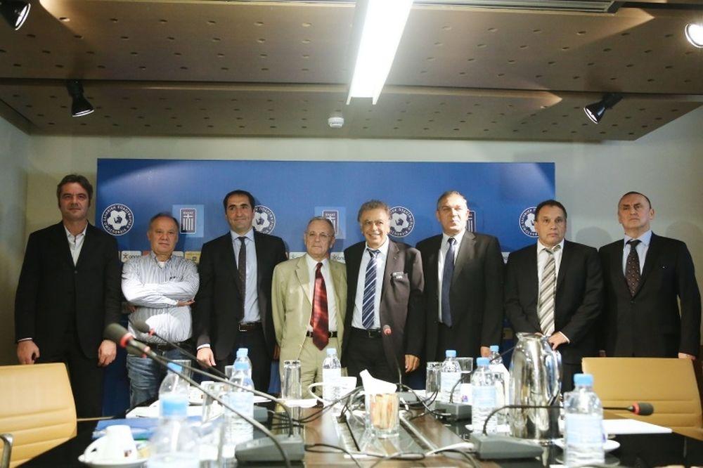 Αυτή είναι η Επιτροπή Εξομάλυνσης που αναλαμβάνει την ΕΠΟ