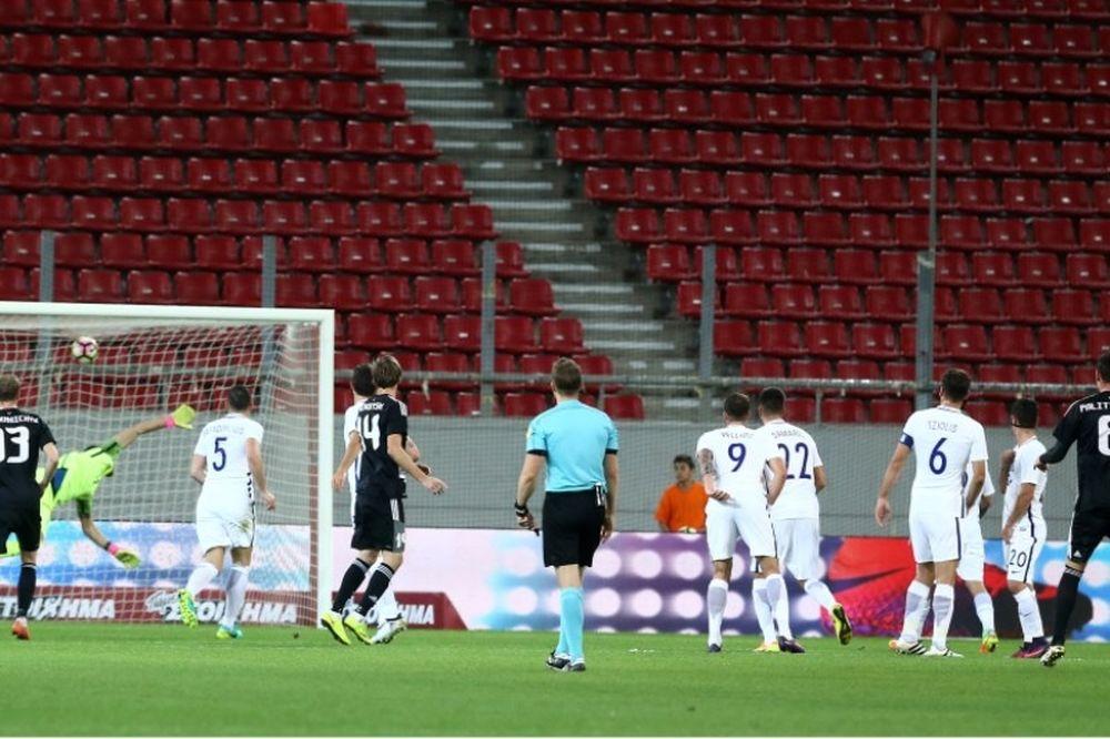 Ελλάδα - Λευκορωσία 0-1: Δεν του βγήκε το ροτέισον