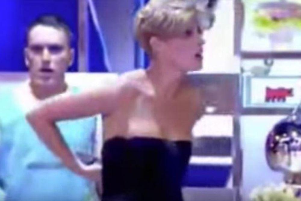 Βγήκαν στη… φόρα τα στήθη παρουσιάστριας σε live μετάδοση