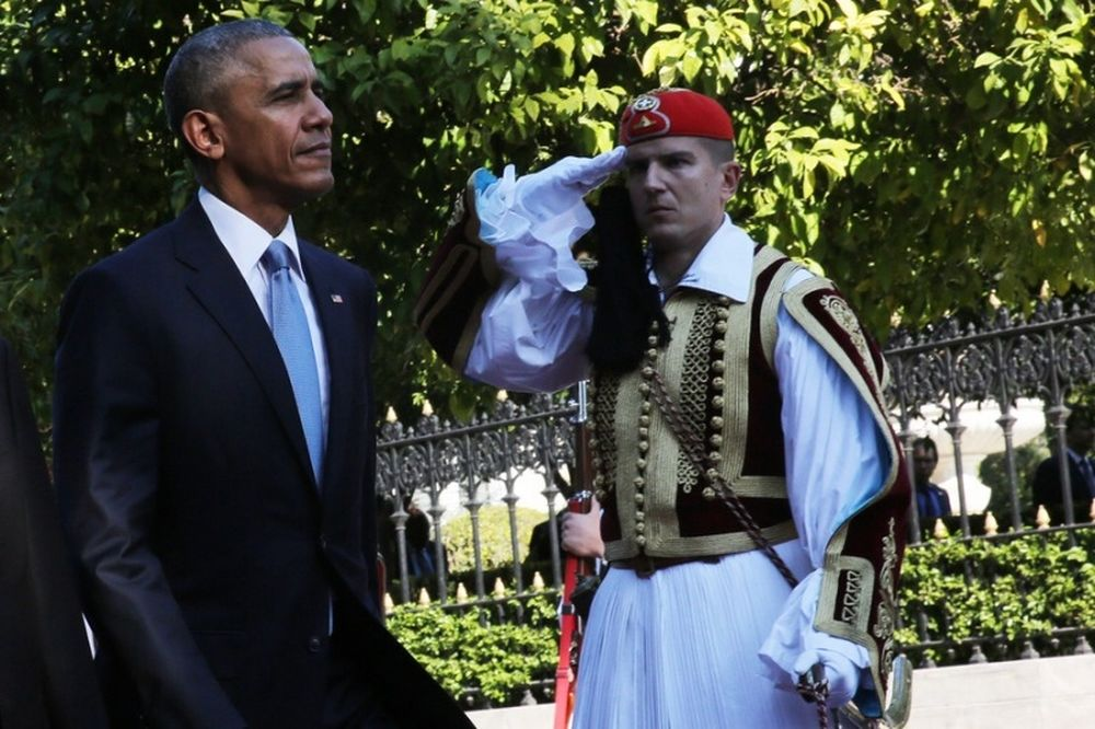 Επίσκεψη Ομπάμα στην Αθήνα: Τώρα η συνάντηση του Αλέξη Τσίπρα με τον Πρόεδρο των ΗΠΑ
