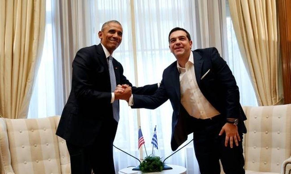 Τσίπρας σε Ομπάμα: Έλα να παίξουμε ένα μπασκετάκι!