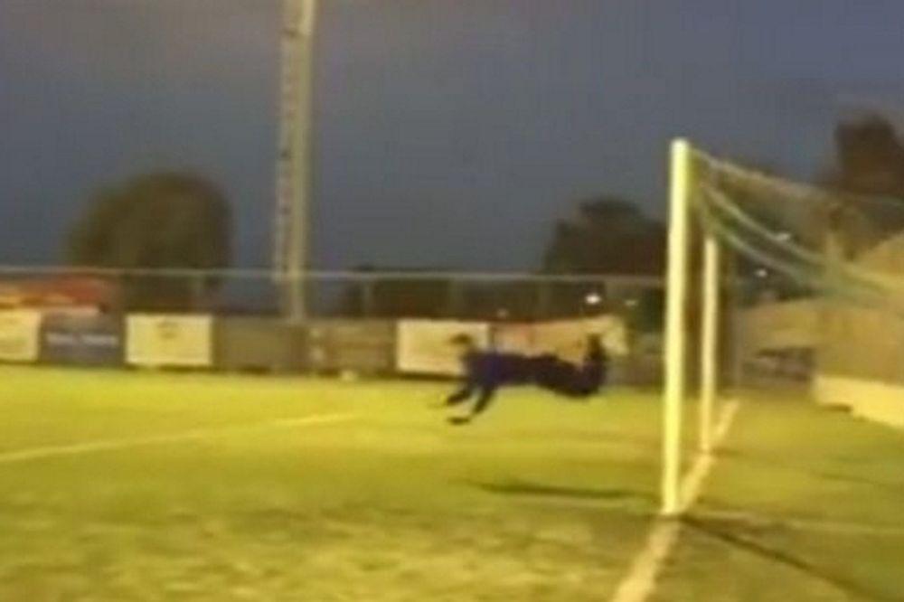 EΠΟΣ: «Χτύπημα του σκορπιού» από τερματoφύλακα Γ΄ Εθνικής! (vid)