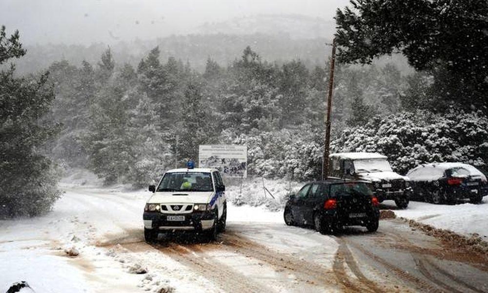 Καιρός: Χιονιάς «χτυπά» την Ελλάδα - Πλημμύρισαν Κρήτη και Μυτιλήνη - Χιόνια και στην Αττική