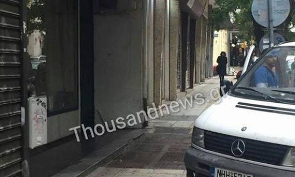 Θεσσαλονίκη: Από εδώ έπεσε η 22χρονη φοιτήτρια (vid)