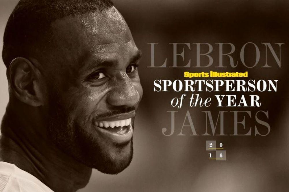 Ο Lebron James ψηφίστηκε από το Sports Illustrated αθλητής της χρονιάς (video)