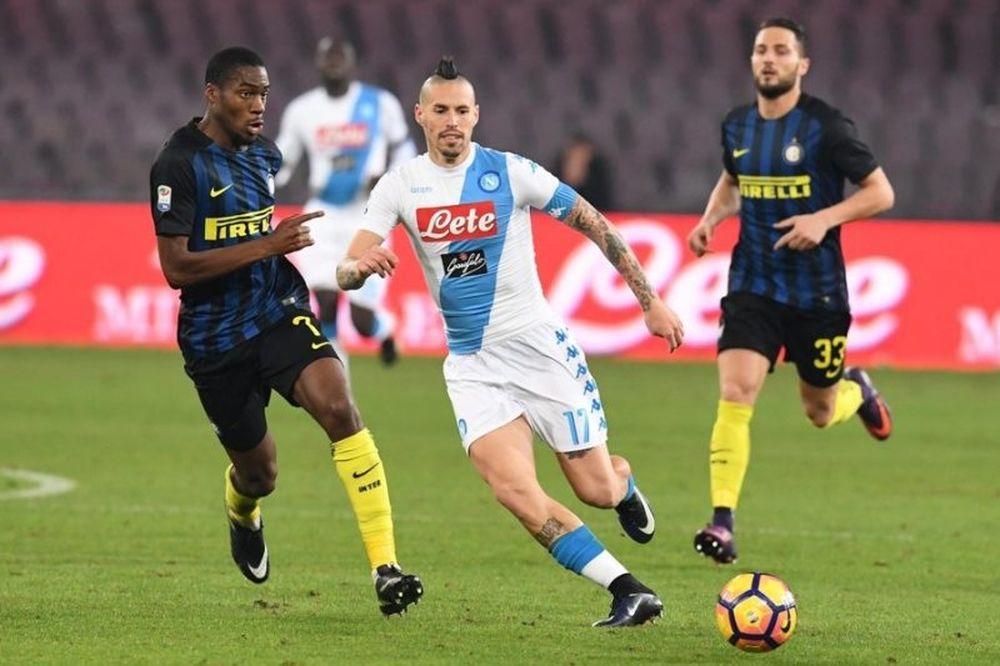 Serie A: Εύκολη τριάρα της Νάπολι στην Ίντερ! (video)