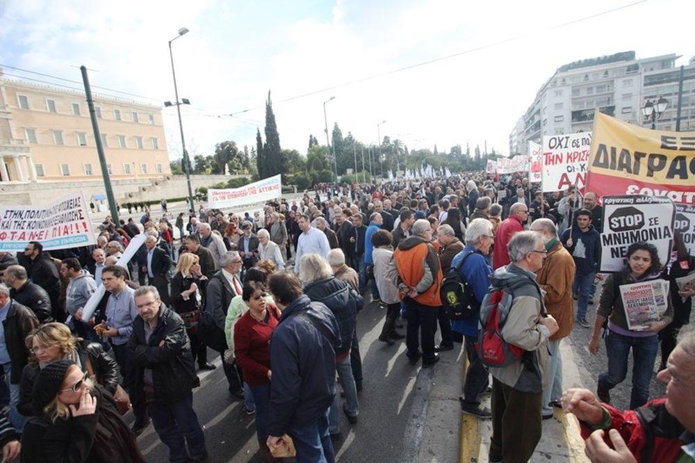 Διχάζουν τον Έλληνα ακόμη και στις διαδηλώσεις!