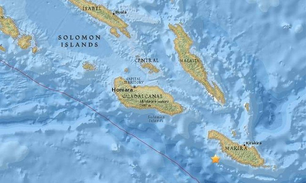 Ισχυρός σεισμός τώρα 7,7 Ρίχτερ στα νησιά του Σολομώντα - Προειδοποίηση για τσουνάμι