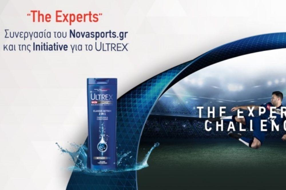 «The Experts»: Συνεργασία του Novasports.gr και της Initiative για το Ultrex!