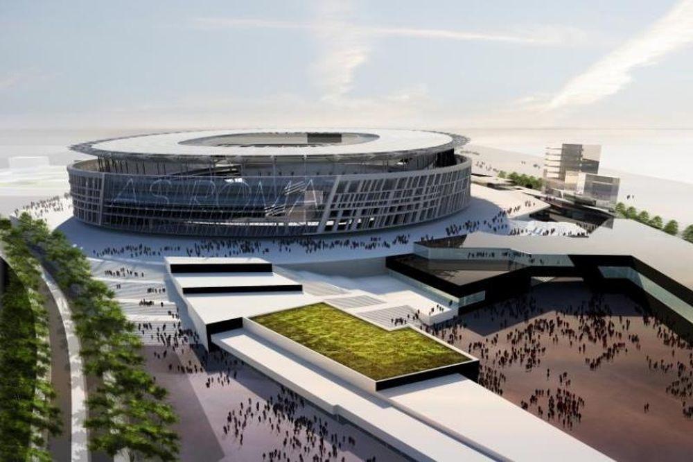 Στην τελική ευθεία το νέο γήπεδο της Ρόμα
