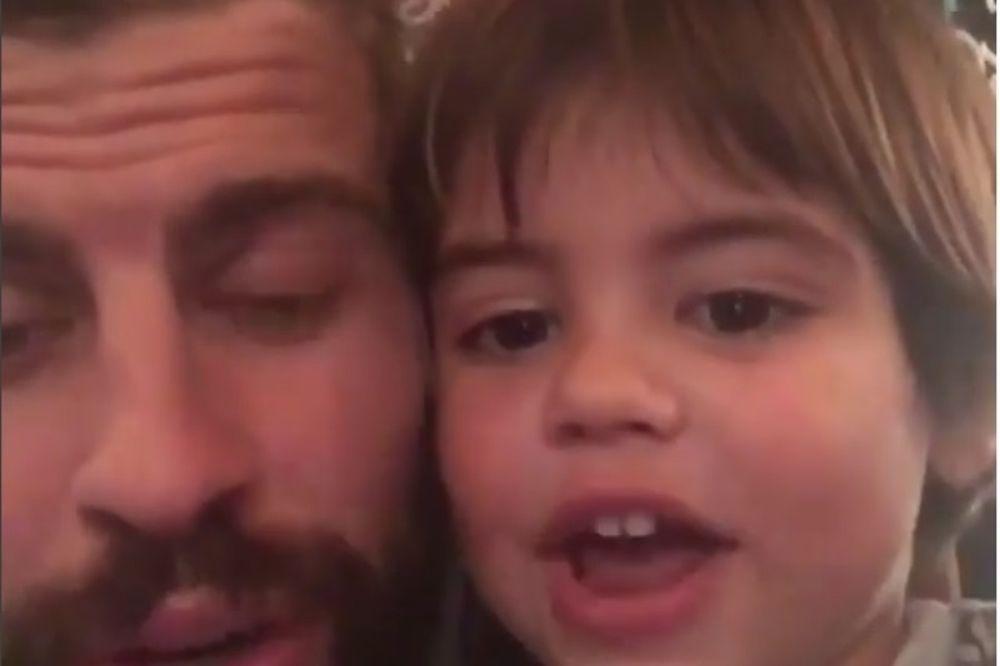 Από μικρός στους Ultras της Μπαρτσελόνα ο γιος του Πικέ! (video)