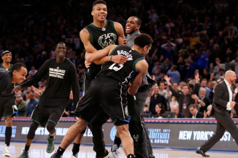 Υποκλίθηκαν και οι Knicks στον Αντετοκούνμπο (video)