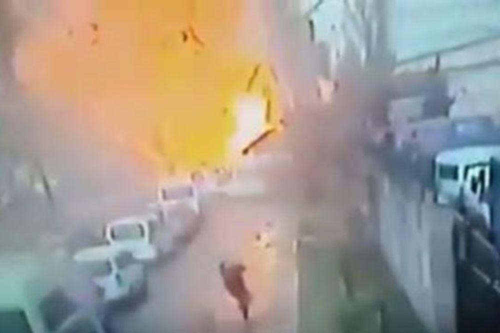 Έκρηξη Σμύρνη: Δείτε το συγκλονιστικό βίντεο της έκρηξης έξω από το δικαστικό μέγαρο