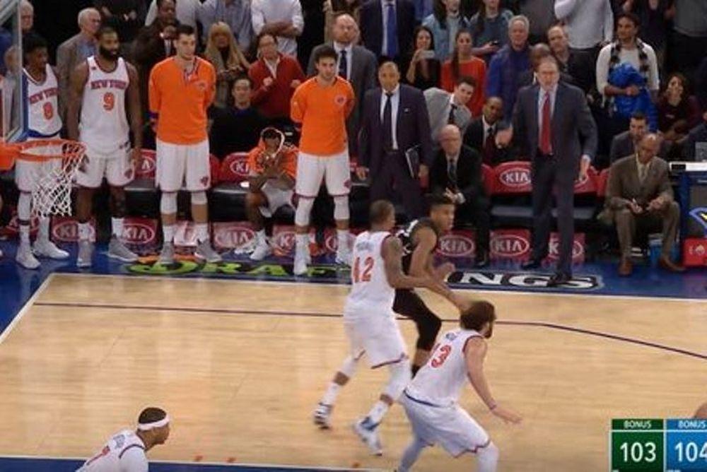 NBA: Το καλάθι του Giannis δεν έπρεπε να μετρήσει