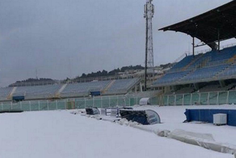 Αναβολή λόγω χιονιά στο Πεσκάρα - Φιορεντίνα