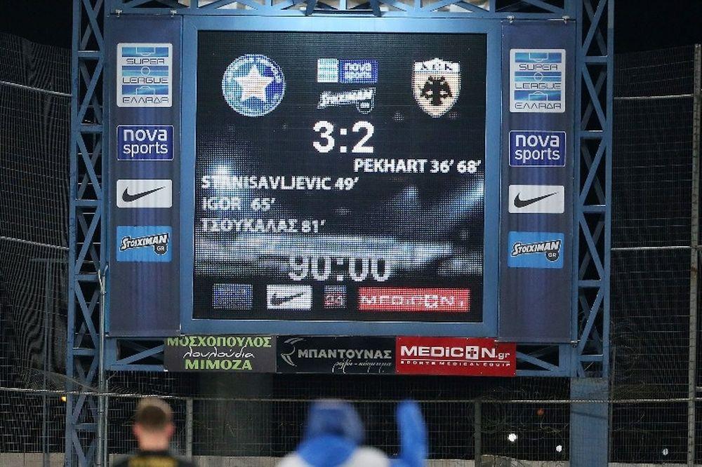 Αστέρας Τρίπολης - ΑΕΚ 3-2: Τα επίσημα highlights (video)