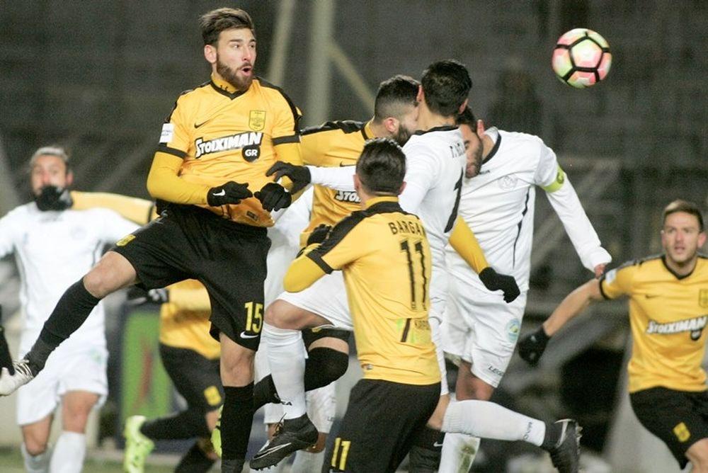 Άρης-Παναιγιάλειος 2-1: Αγχωτική νίκη στο «Κλεάνθης Βικελίδης»