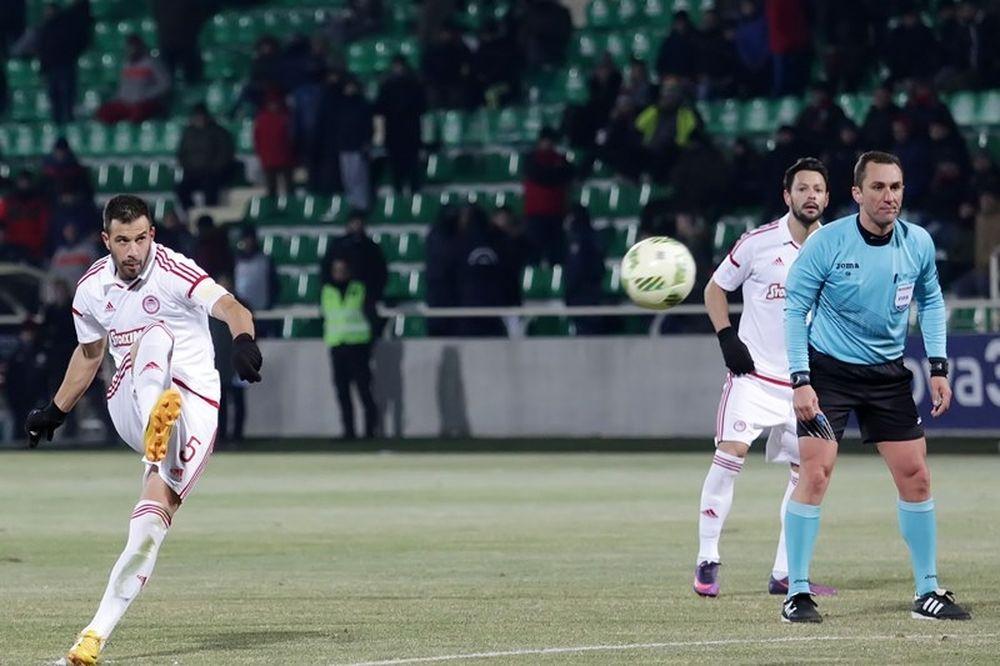 Ξάνθη - Ολυμπιακός 0-2: Τα γκολ του αγώνα (video)