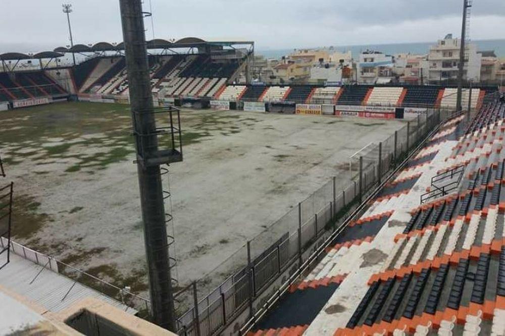 Χανιά - Σπάρτη: Αναβολή λόγω χιονιά