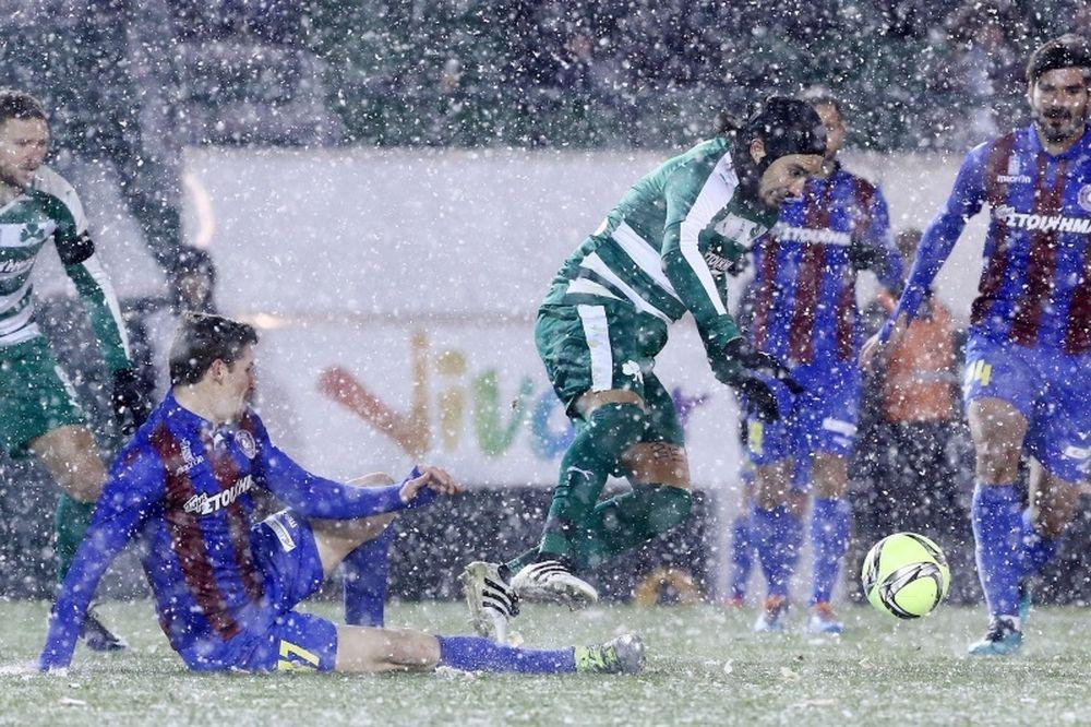 Παναθηναϊκός-Κέρκυρα 1-0: Χιονοθύελλα ο Λέτο!