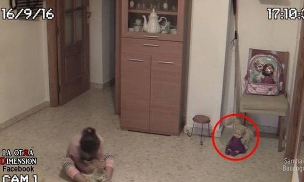 Βίντεο: Δαιμονισμένη κούκλα ζωντανεύει ξαφνικά, τρομοκρατεί κοριτσάκι και προκαλεί σεισμό!