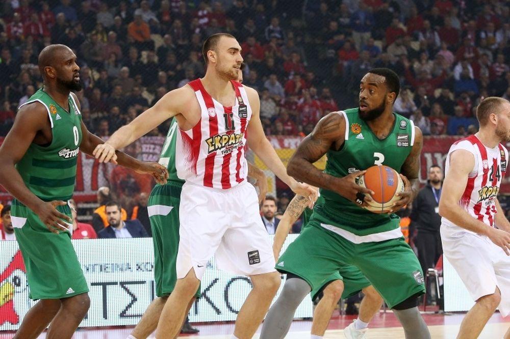 Ολυμπιακός-Παναθηναϊκός Superfoods 67-77: Πράσινο πάρτι στο ΣΕΦ και πρόκριση στον τελικό!