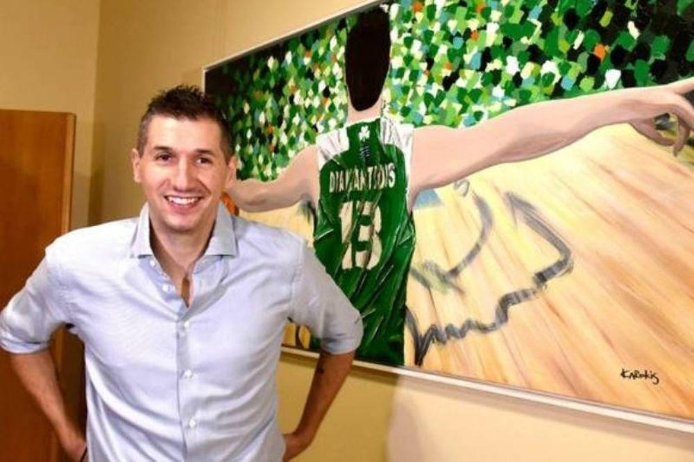Διαμαντίδης: «Ευλογημένος που ασχολήθηκα με το μπάσκετ»