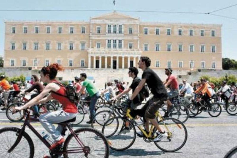 Οι Αθηναίοι αποφασίζουν για τα ποδήλατα στην πόλη τους!