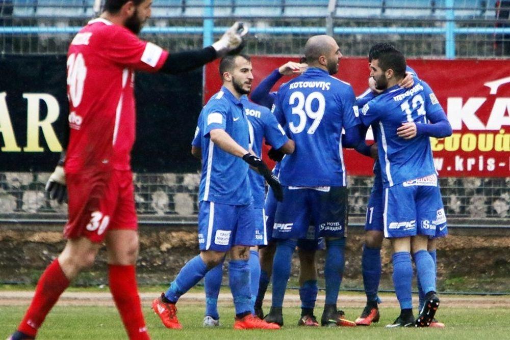 Λαμία-Αχαρναϊκός 3-0: Σίφουνας για Super League