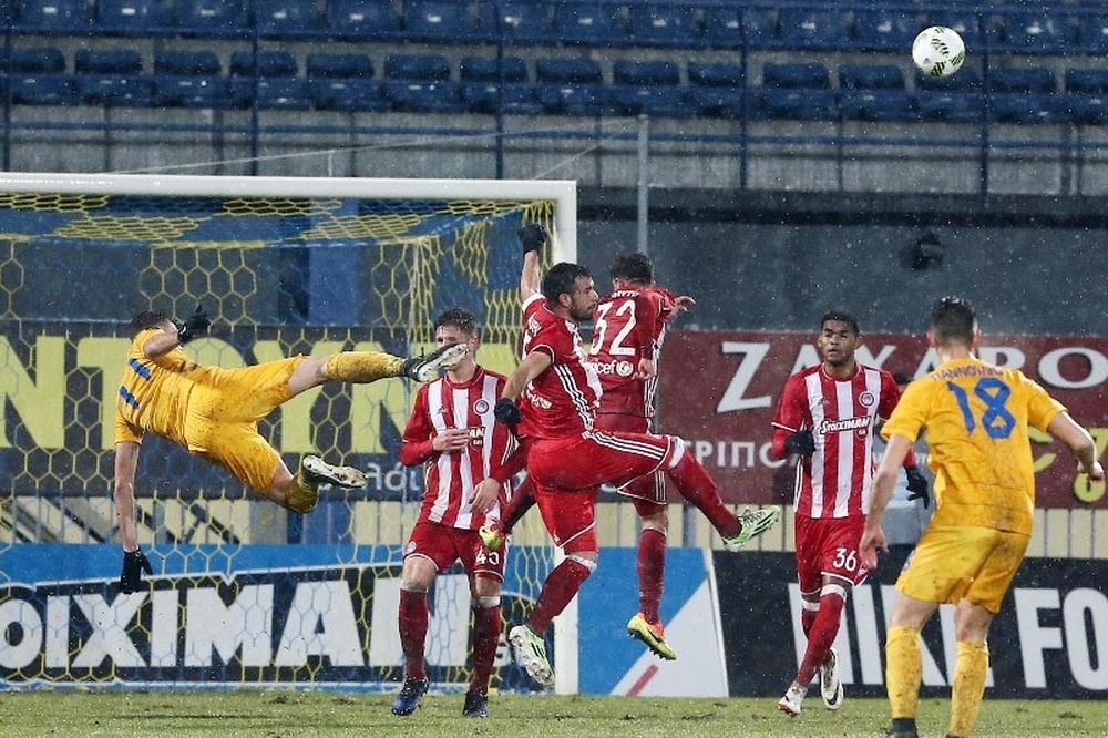 Αστέρας Τρίπολης – Ολυμπιακός 0-0: «Μπλόκο» και στην Τρίπολη