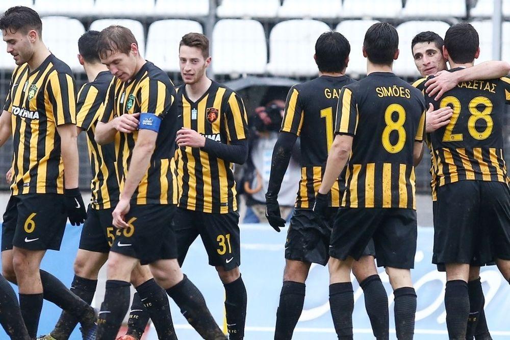 Λεβαδειακός-ΑΕΚ 0-1: Την γλίτωσε ο Μπακασέτας