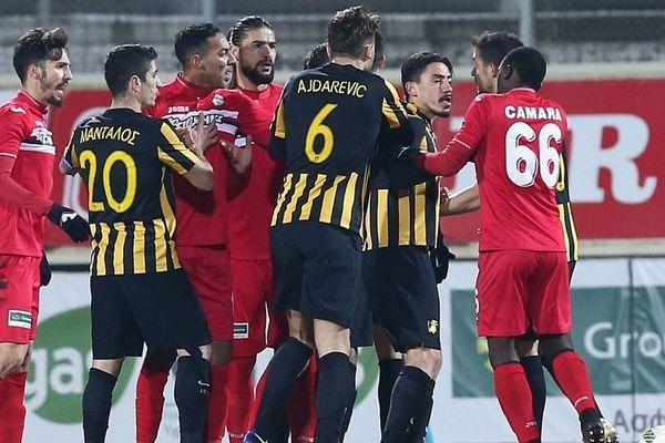 Ξάνθη-ΑΕΚ 0-0: Όρθια σε ματς-σούπα!