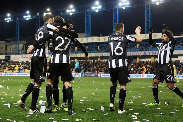 Παναιτωλικός-ΠΑΟΚ 0-1: Το γκολ του αγώνα (video)