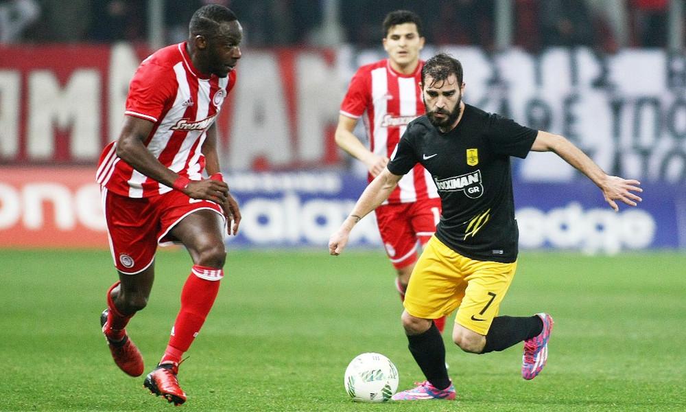 """Ολυμπιακός-Άρης 2-0: """"Ερυθρόλευκη"""" πρόκριση στο... ρελαντί"""