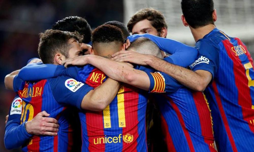 Επεισοδιακή πρόκριση της Μπαρτσελόνα στον τελικό του Κυπέλλου Ισπανίας