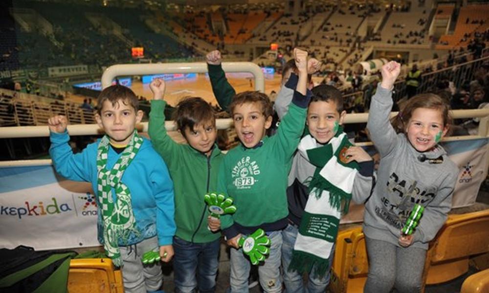Η παιδική Κερκίδα ΟΠΑΠ πάει στο ντέρμπι ΑΕΚ-Ολυμπιακός!