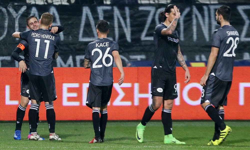 ΠΑΟΚ-Βέροια 4-0: Ξέσπασε με Πρίγιοβιτς