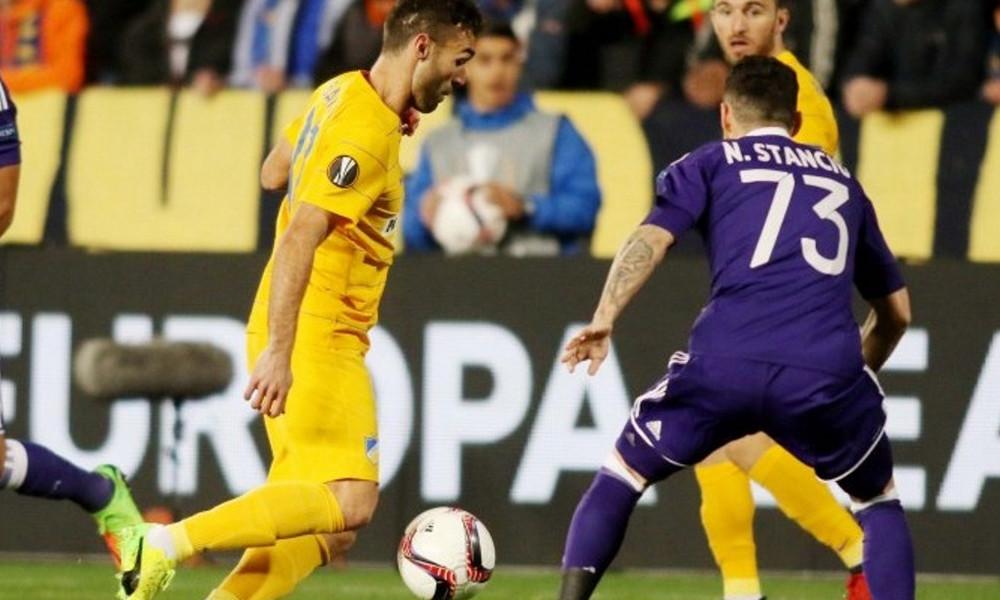 ΑΠΟΕΛ-Άντερλεχτ 0-1: Με την πλάτη στον τοίχο