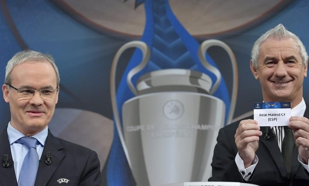 Champions League: Το πλήρες πρόγραμμα των προημιτελικών