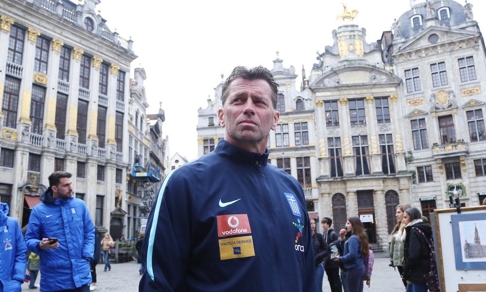 Σκίμπε: Οι Βέλγοι καλοί επιθετικά, εμείς καλύτεροι στην άμυνα!