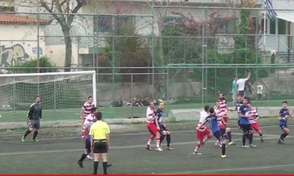 Επικό γκολ σε αγώνα της ΕΠΣ Μακεδονίας
