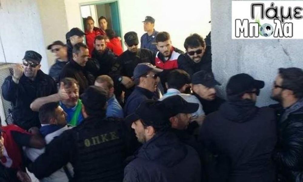 Απίστευτα επεισόδια και επίθεση αστυνομικών σε βάρος του Απόλλωνα Καλαμαριάς!