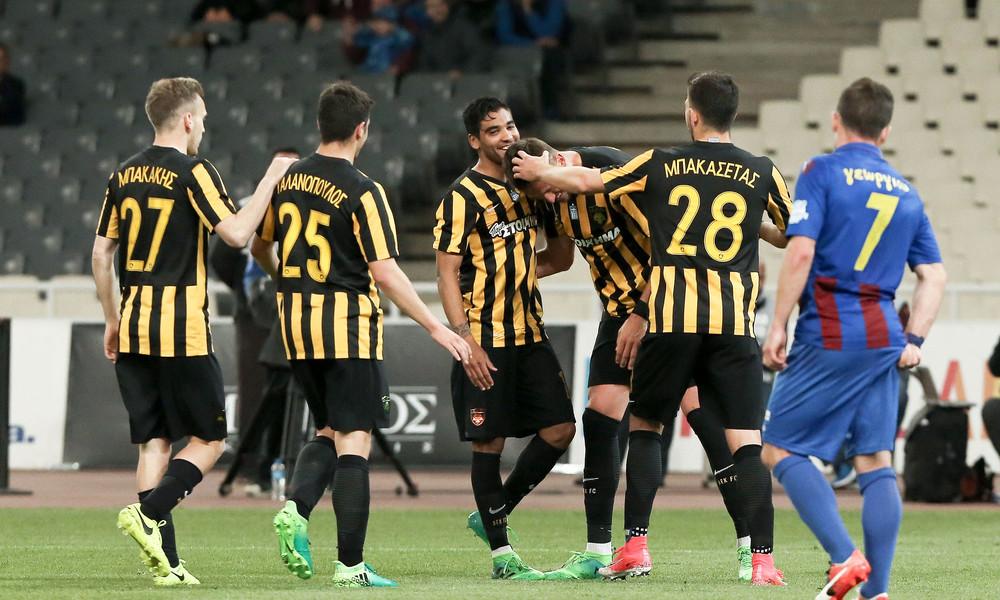 ΑΕΚ-Κέρκυρα 5-0: Πεντάρα αφιερωμένη στον Λαμπρόπουλο