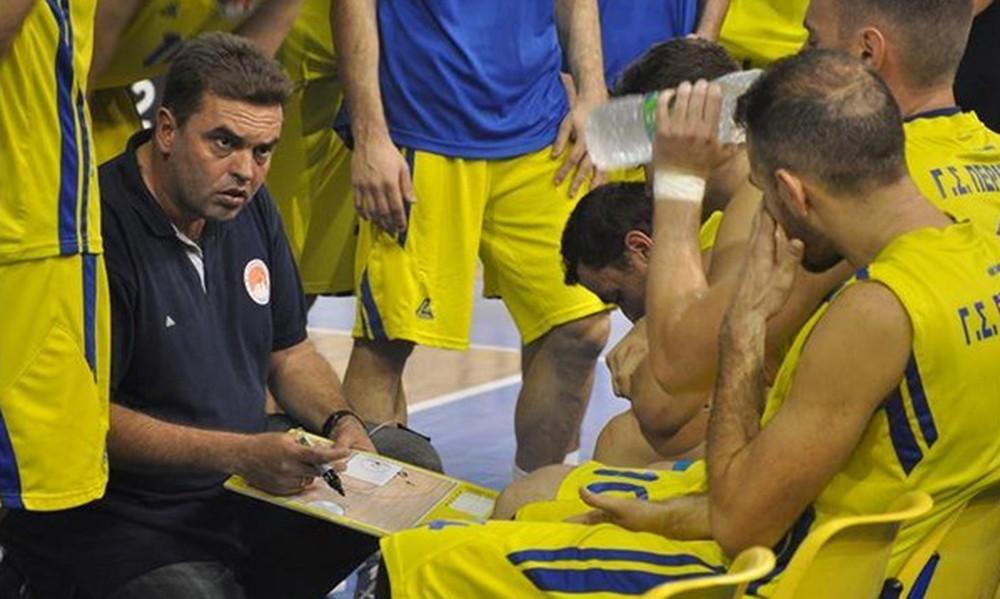 Περιστέρι: Με Καραγιάννη στο δρόμο για την Basket League