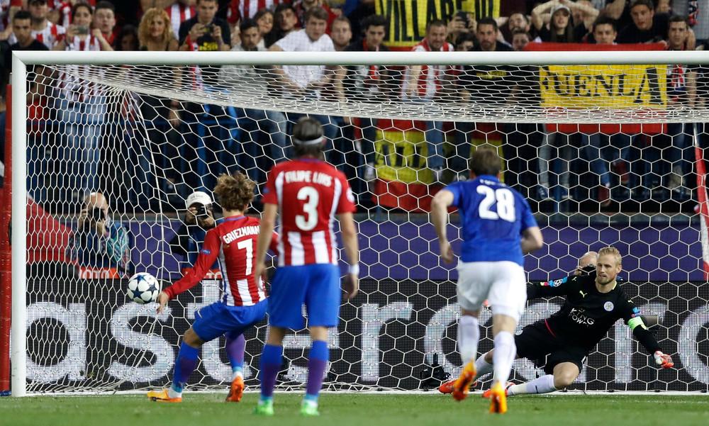 Ατλέτικο Μαδρίτης – Λέστερ 1-0: Προβάδισμα με πέναλτι... φάντασμα