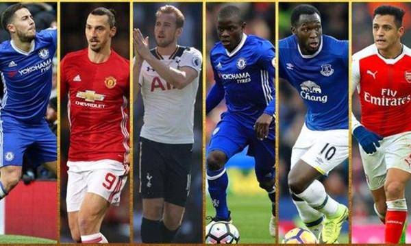 Premier League: Αυτοί είναι οι κορυφαίοι