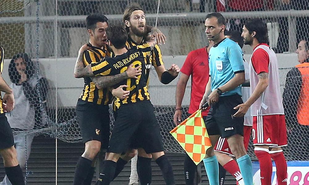 Ολυμπιακός-ΑΕΚ 1-2: Τα γκολ του αγώνα
