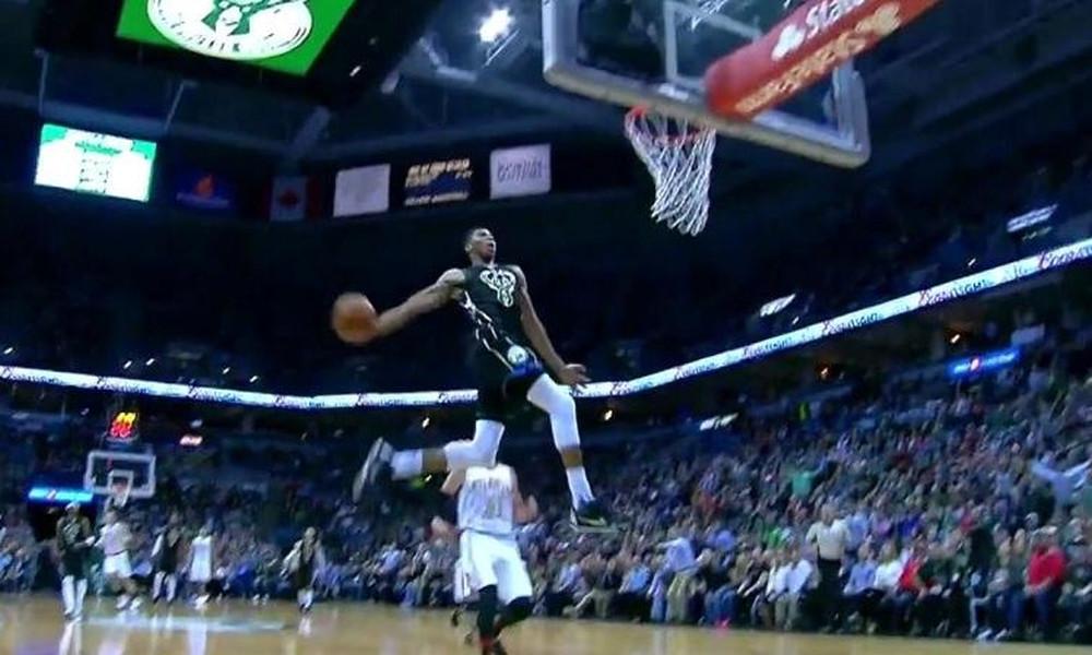 NBA Top 10:  Τρεις φορές Αντετοκούνμπο στα highlights της σεζόν!