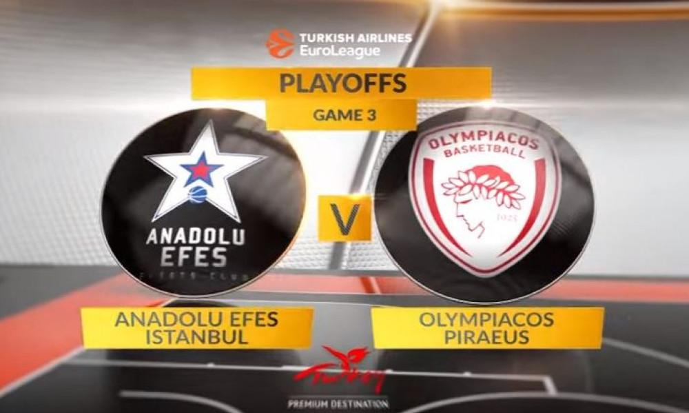 Euroleague: Το trailer του Game 3 Εφές-Ολυμπιακός